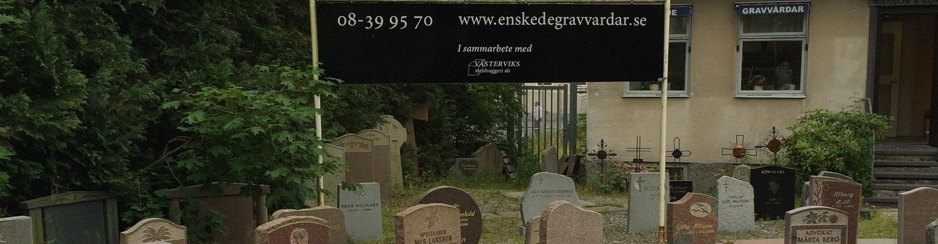 gravstenar stockholm enskede